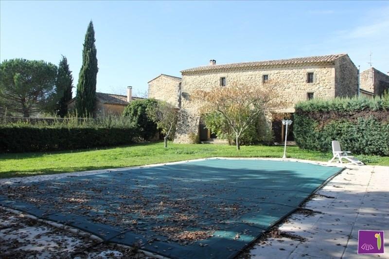 Vente de prestige maison / villa Uzes 509000€ - Photo 2