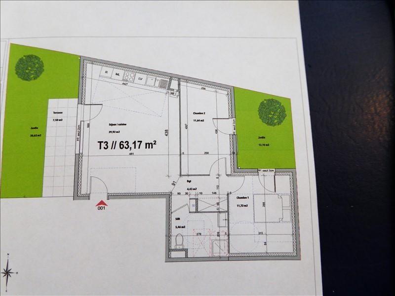 Vente appartement Luzinay 183000€ - Photo 4