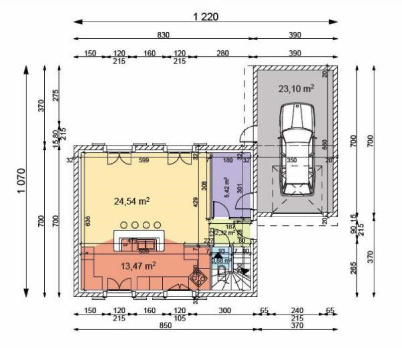 Verkoop  huis Thurins 229000€ - Foto 3