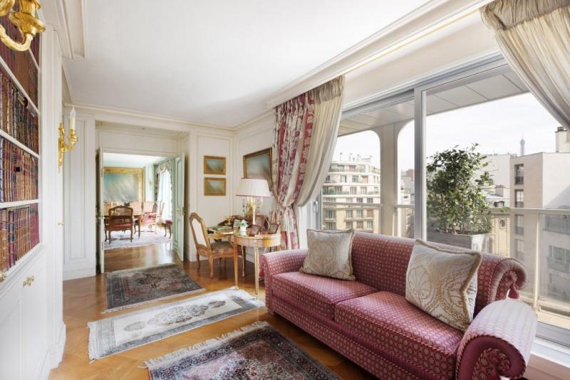 Revenda residencial de prestígio apartamento Paris 16ème 3450000€ - Fotografia 8