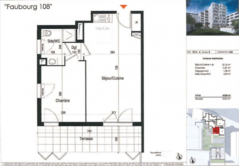 Sale apartment Lyon 8ème 349000€ - Picture 3