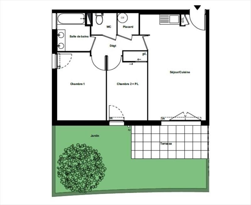 Sale apartment Perpignan 173500€ - Picture 1
