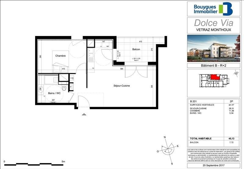 Sale apartment Vetraz monthoux 175000€ - Picture 2