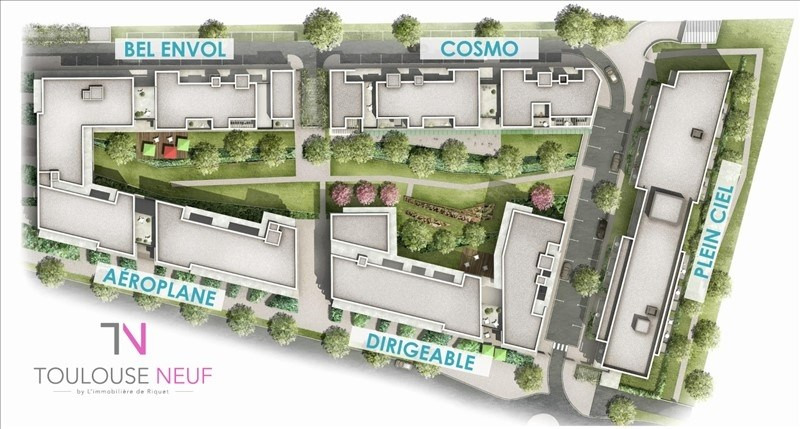 Vente appartement Toulouse 279000€ - Photo 8