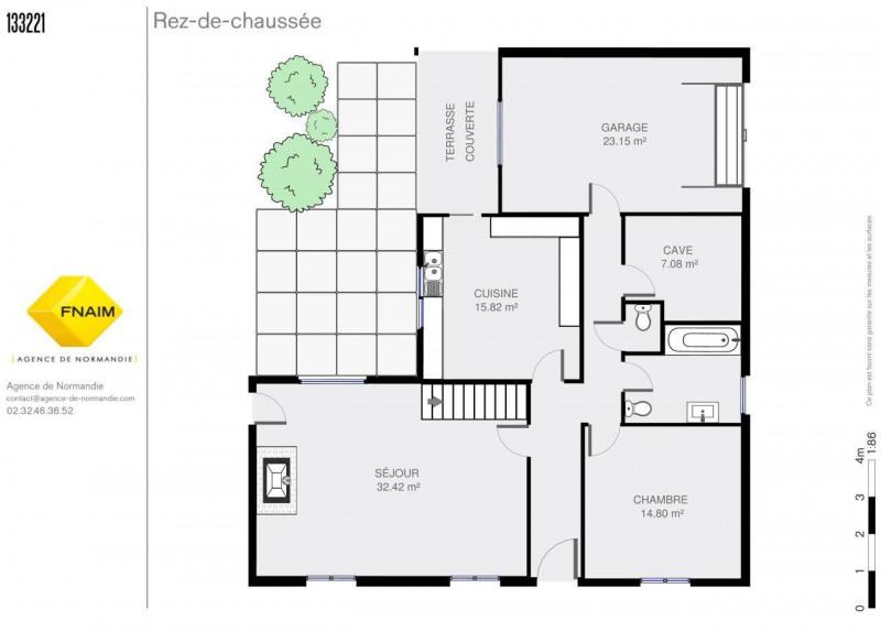 Vente maison / villa Montreuil-l'argille 127800€ - Photo 4