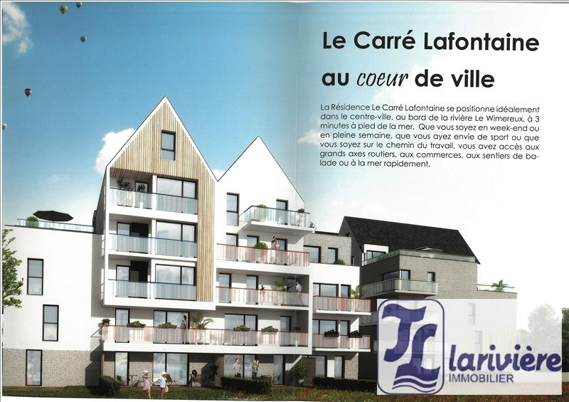 Sale apartment Wimereux 215 000€ - Picture 1