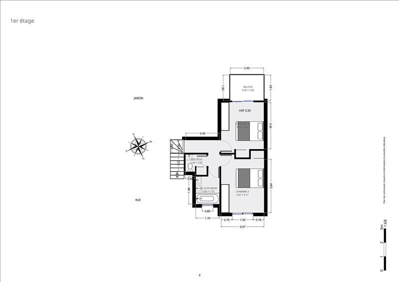 Immobile residenziali di prestigio appartamento Paris 15ème 1898000€ - Fotografia 10