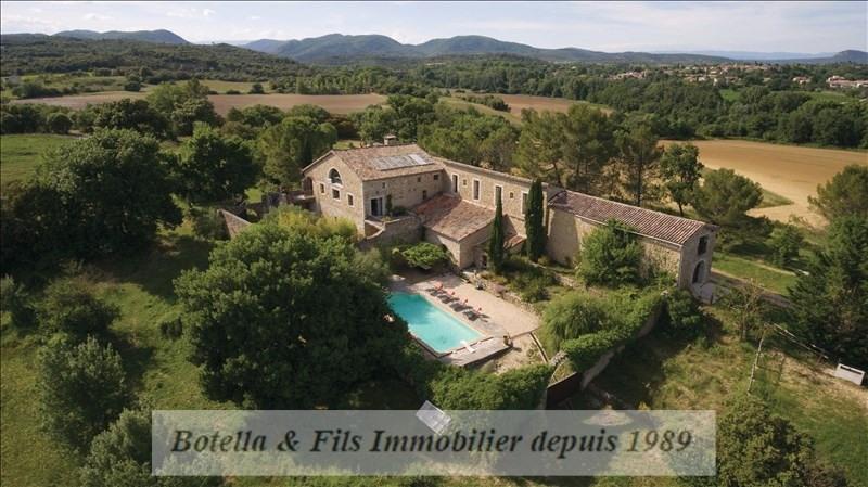 Deluxe sale house / villa Lussan 1092000€ - Picture 1