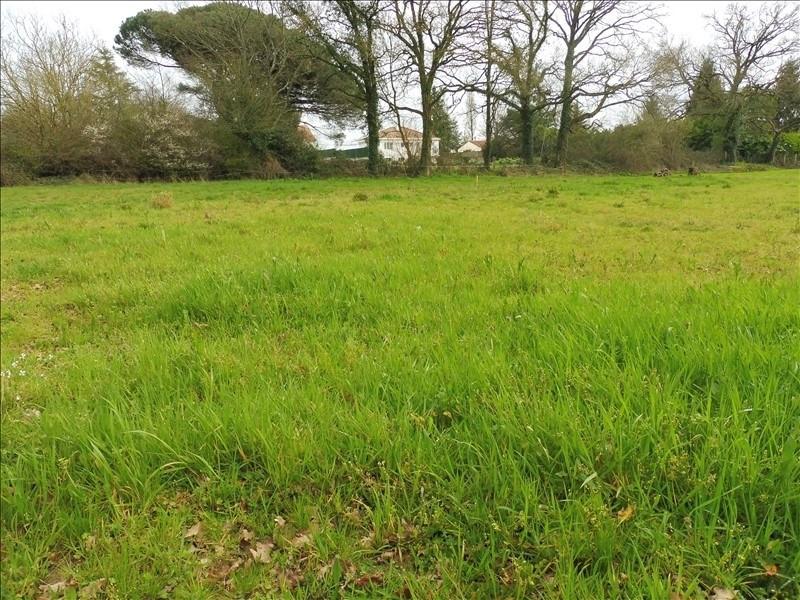 Vente terrain Les clouzeaux 96000€ - Photo 1