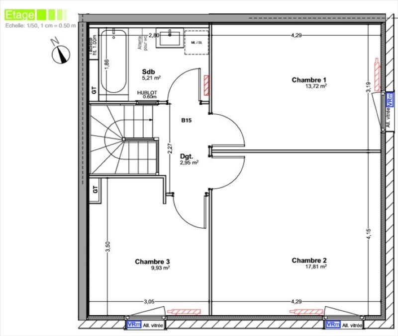Venta  casa Vetraz monthoux 494000€ - Fotografía 3