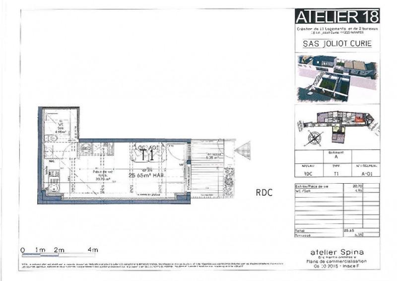 Sale apartment Nantes 109077€ - Picture 1