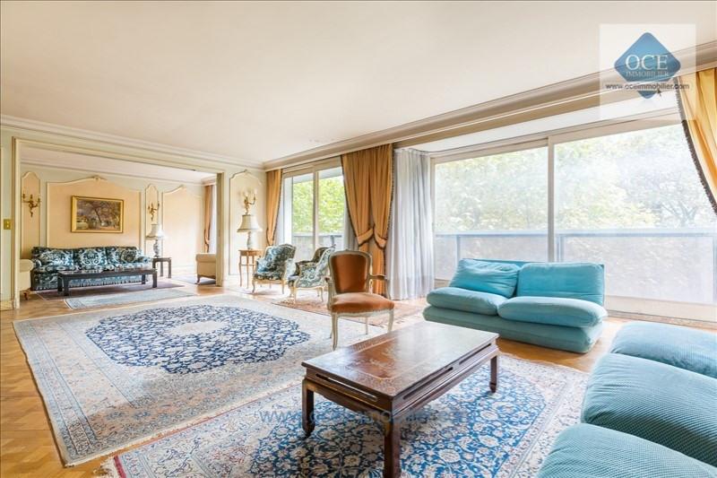 Deluxe sale apartment Paris 16ème 2100000€ - Picture 1