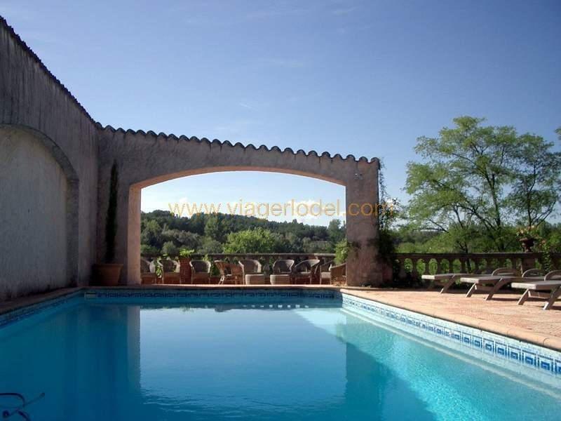 Vendita nell' vitalizio di vita casa Montricoux 335000€ - Fotografia 3