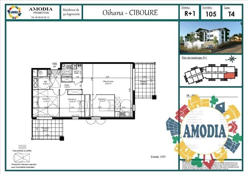Vente appartement Ciboure 289000€ - Photo 3