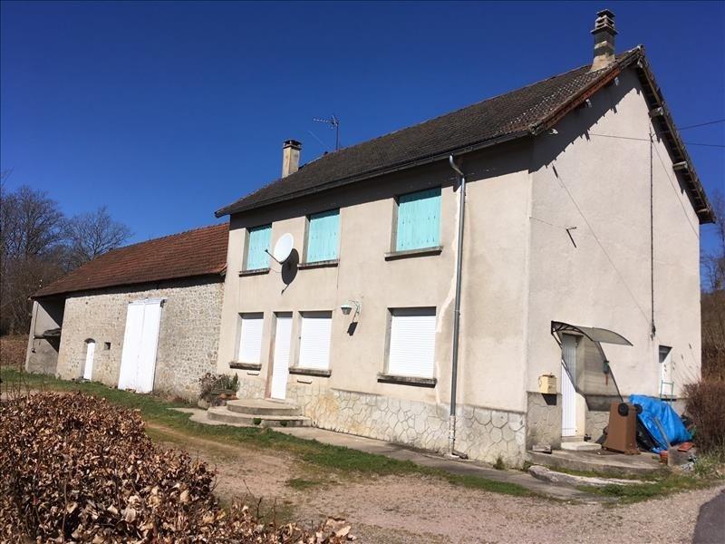 Vente maison / villa Gouloux 120000€ - Photo 1