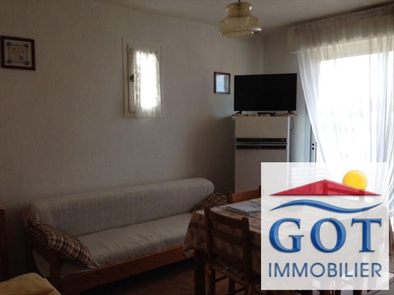 Verhuren  appartement Le barcares 480€ CC - Foto 2