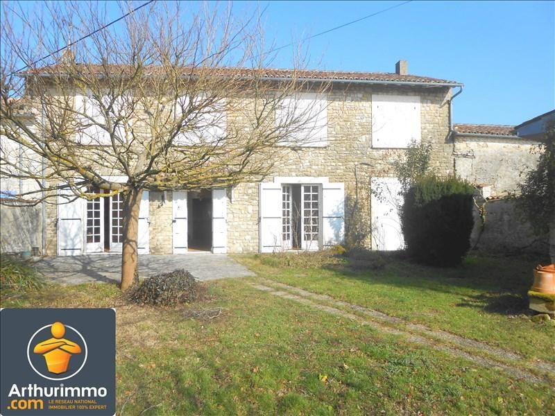 Vente maison / villa Aulnay 138450€ - Photo 1