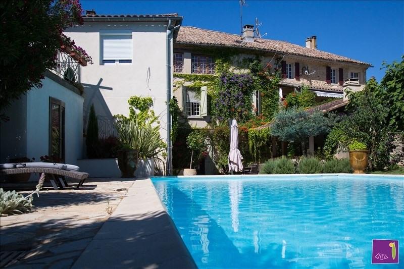 Vente de prestige maison / villa Uzes 579000€ - Photo 1