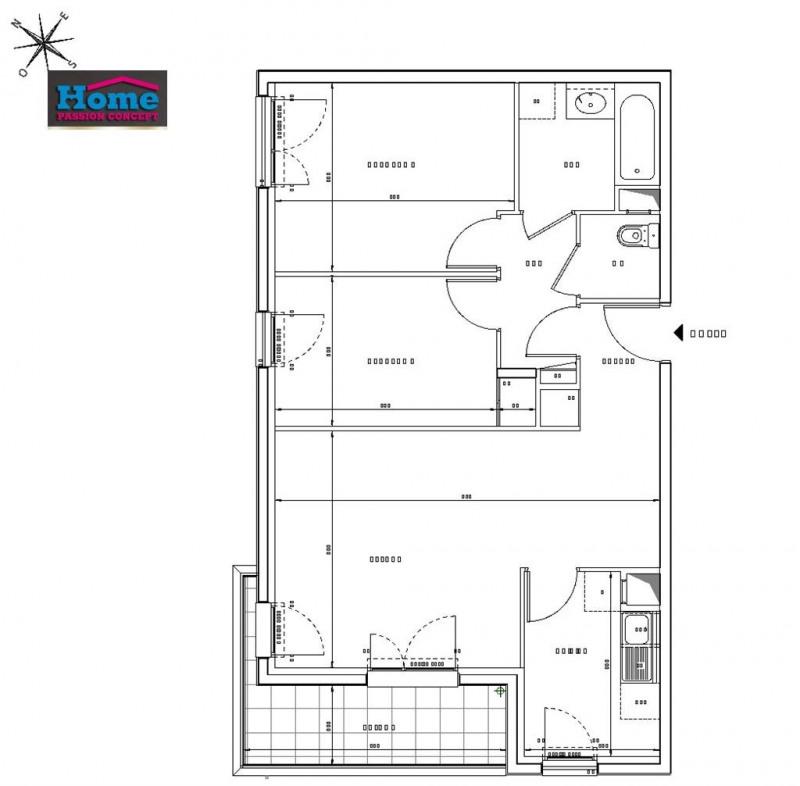 Sale apartment Rueil malmaison 448000€ - Picture 2