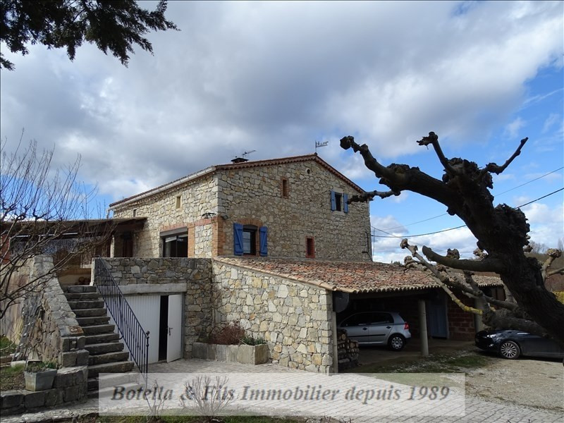 Sale house / villa Barjac 318 000€ - Picture 1