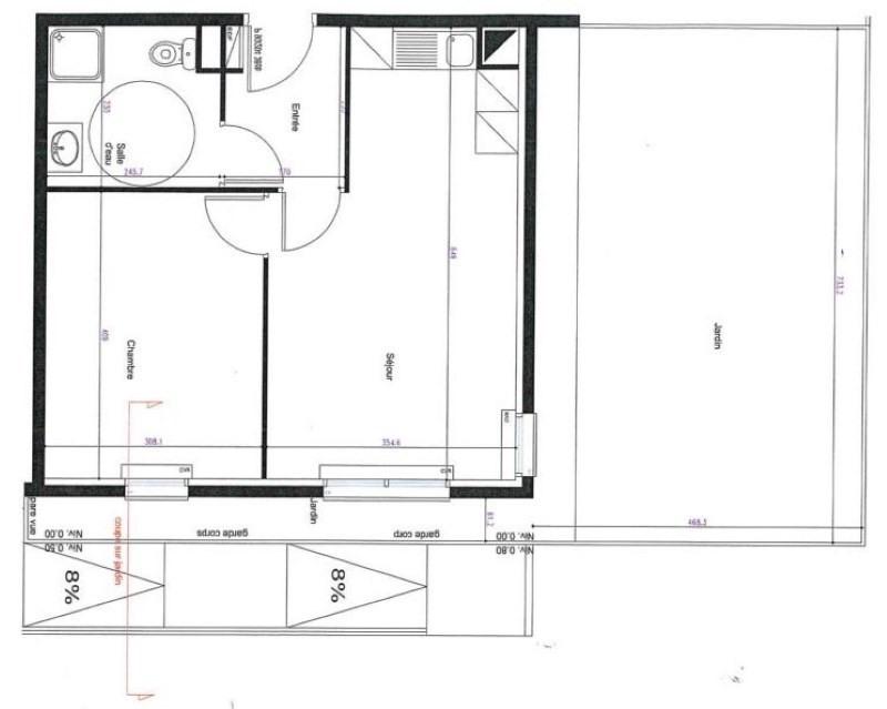 Vente appartement Pomponne 190000€ - Photo 2