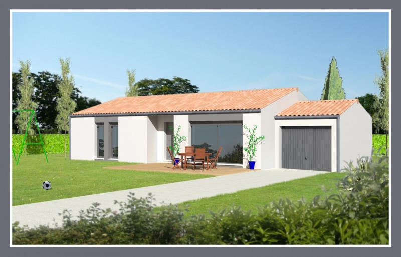"""Modèle de maison  """"Mars 95 m²"""" à partir de 4 pièces Charente par TRADI HOME CHABANAIS"""