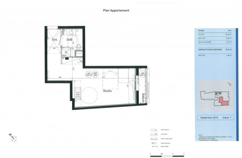 Sale apartment Paris 20ème 277000€ - Picture 2