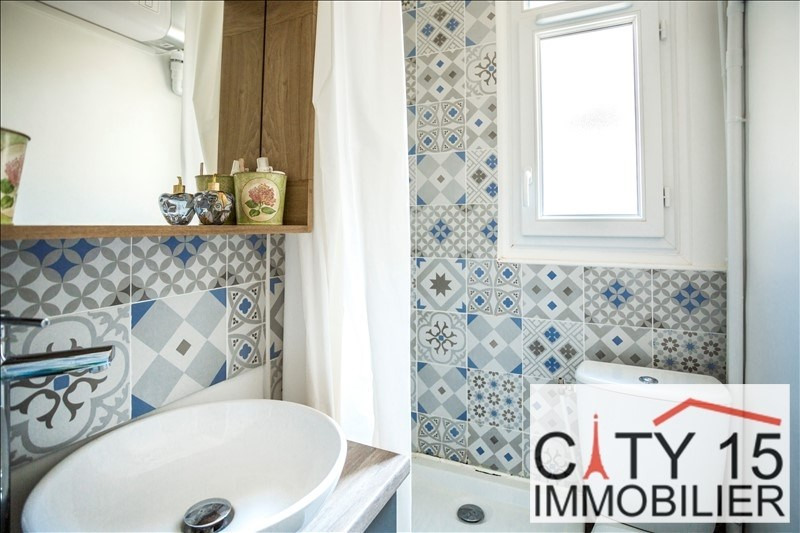 Verkoop  appartement Paris 15ème 257000€ - Foto 7