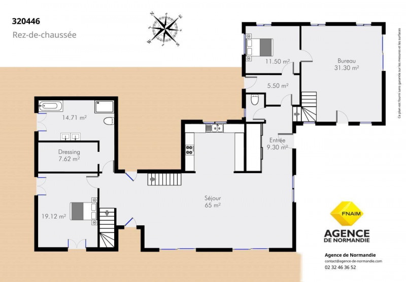 Vente de prestige maison / villa Bernay 320000€ - Photo 9
