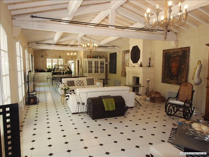 Venta de prestigio  casa Uzes 1580000€ - Fotografía 7