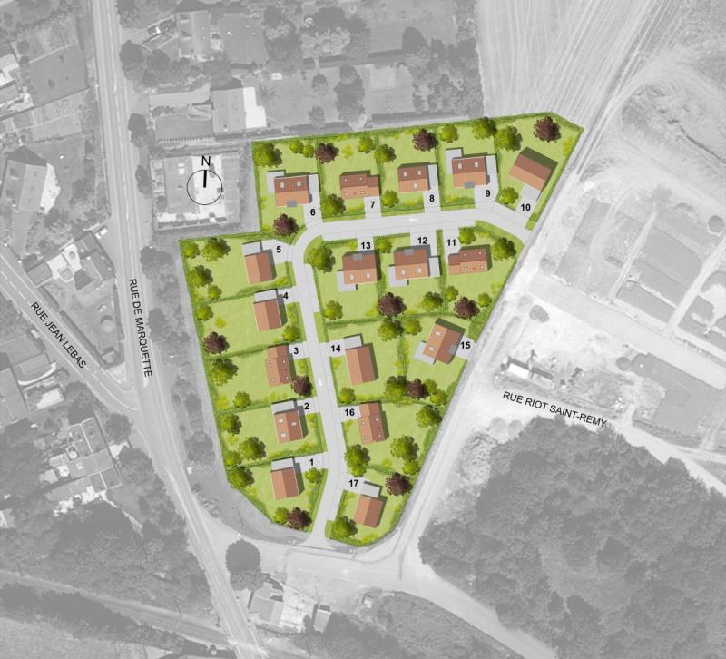 Terrain constructible Tilloy-lez-Cambrai