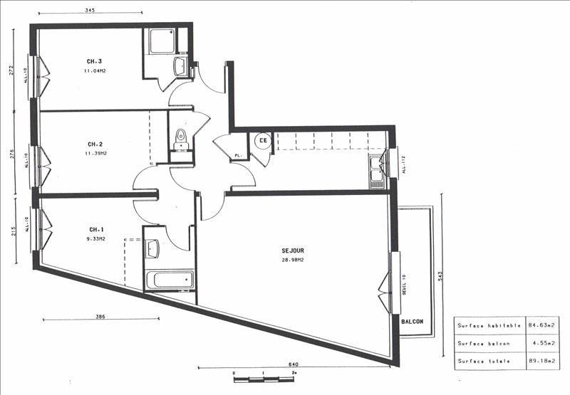 Vente appartement Villejuif 438000€ - Photo 6