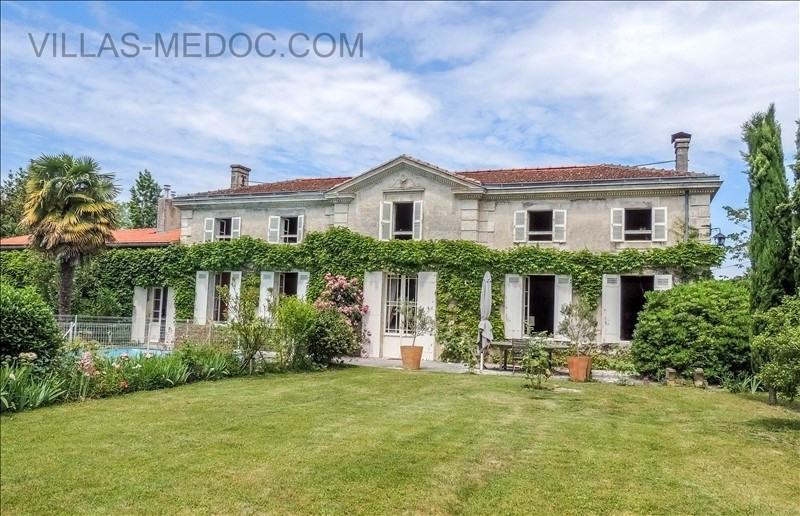 Vente maison / villa Civrac en medoc 460000€ - Photo 1