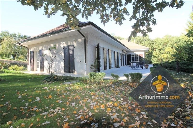 Sale house / villa Tignieu jameyzieu 398000€ - Picture 1
