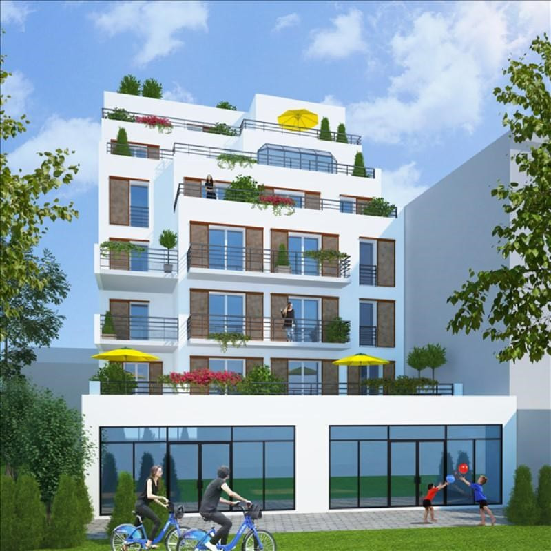 Vente appartement Gentilly 448140€ - Photo 2