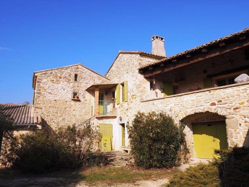 Deluxe sale house / villa Uzes 555000€ - Picture 1