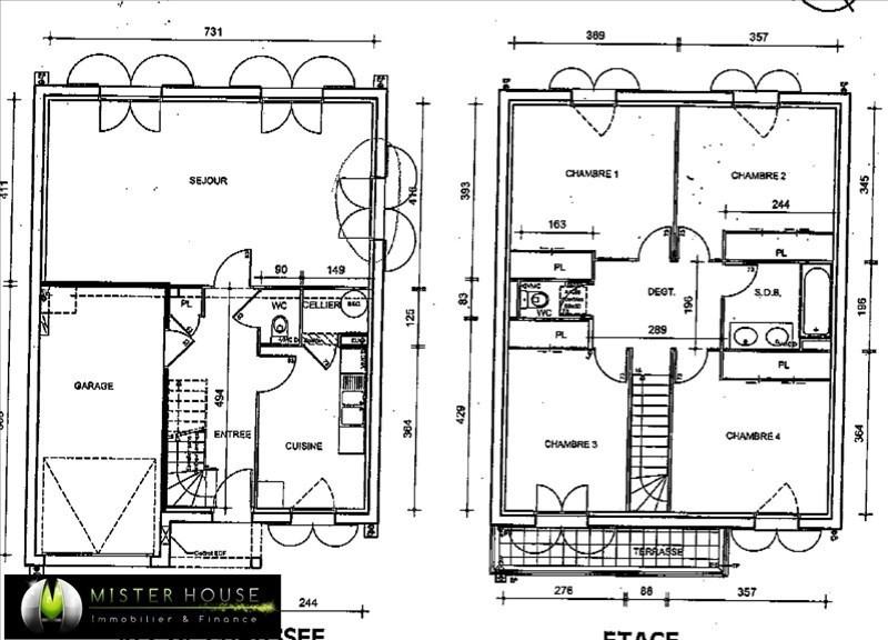 Vendita casa Corbarieu 159000€ - Fotografia 4