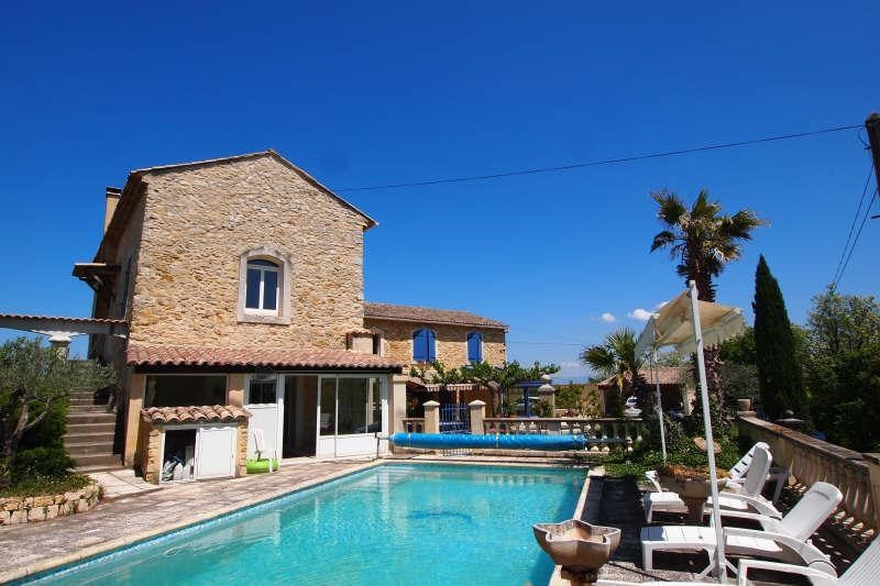 Vente de prestige maison / villa Venejan 595000€ - Photo 1