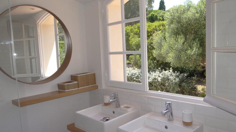 Vacation rental house / villa Cavalaire sur mer 3500€ - Picture 27