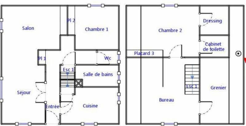 Sale house / villa Coye la foret 300000€ - Picture 9