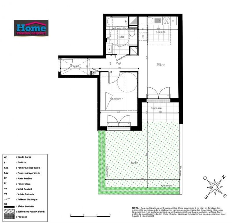 Sale apartment Rueil malmaison 302000€ - Picture 2