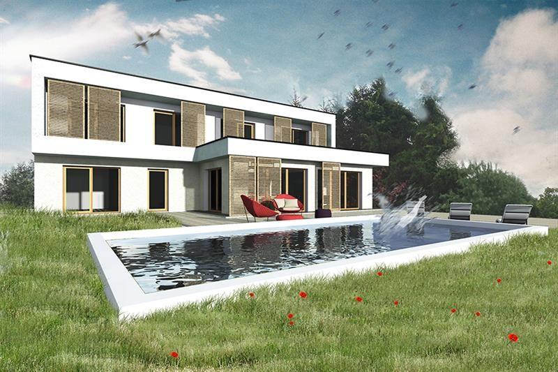 """Modèle de maison  """"Maison passive avec piscine"""" à partir de 6 pièces Haut-Rhin par INNOV'HABITAT"""