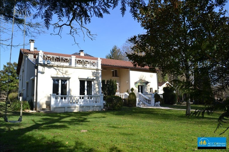 Vente de prestige maison / villa St just chaleyssin 540000€ - Photo 4