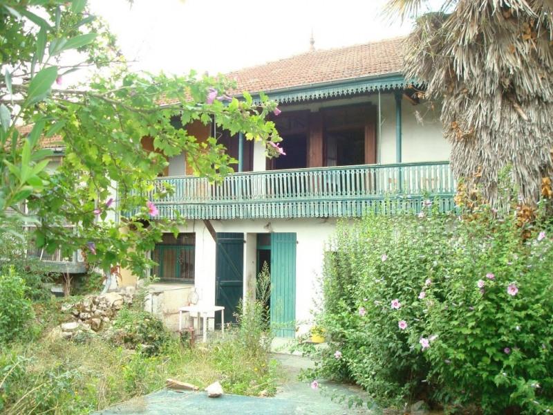 Ancien hôtel restaurant à rénover proche de Lavelanet vue pyréné