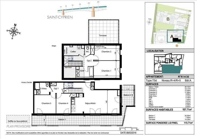 Vente appartement Toulouse 470000€ - Photo 10