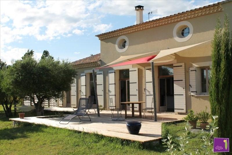 Deluxe sale house / villa Uzes 568000€ - Picture 1