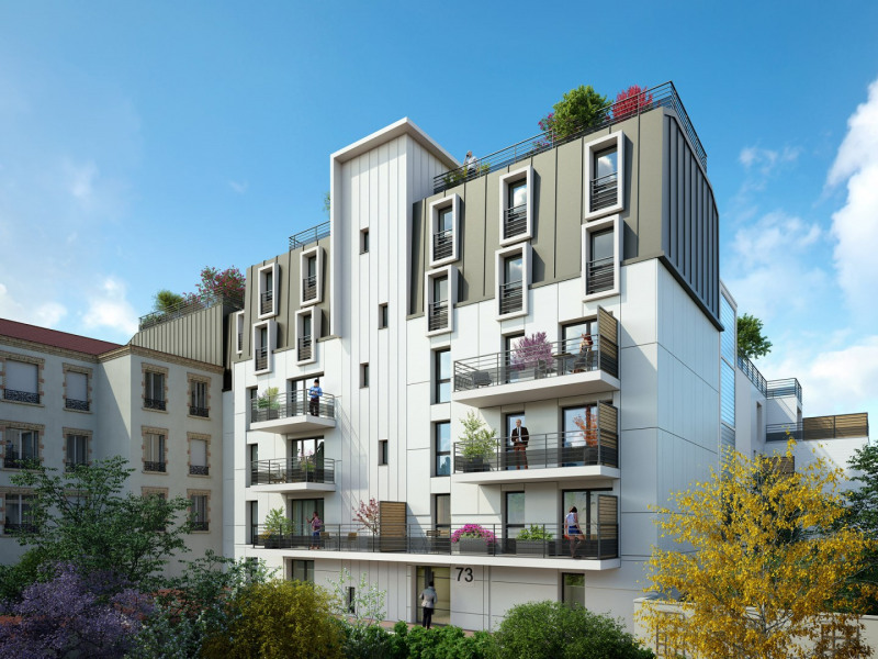 Horizon programme immobilier neuf bezons propos par for Immobilier neuf idf