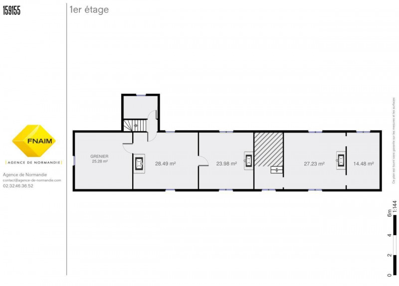 Vente maison / villa Montreuil-l'argille 106760€ - Photo 5