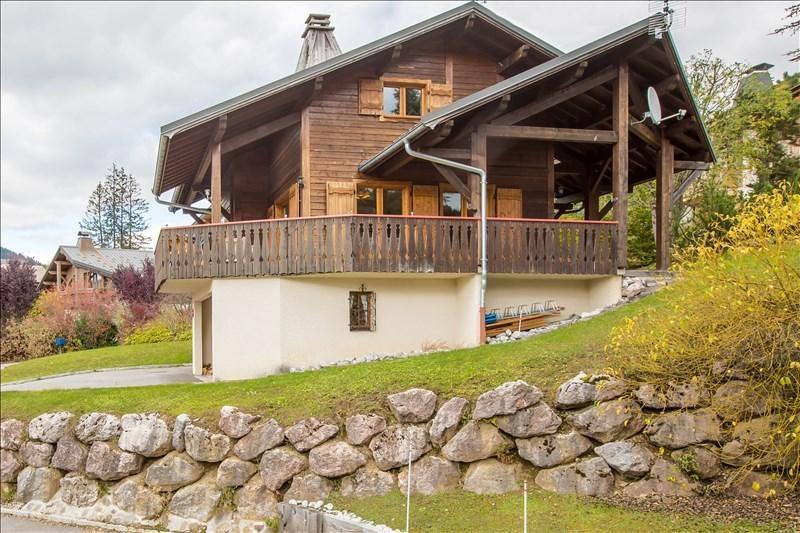 Verkoop van prestige  huis Les gets 895000€ - Foto 1