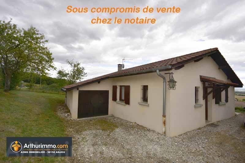 Vente maison / villa Bellegarde poussieu 152000€ - Photo 1
